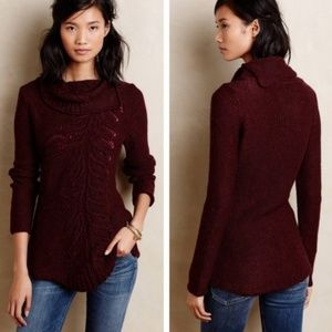 Moth Hadley Pointelle Tunic Sweater